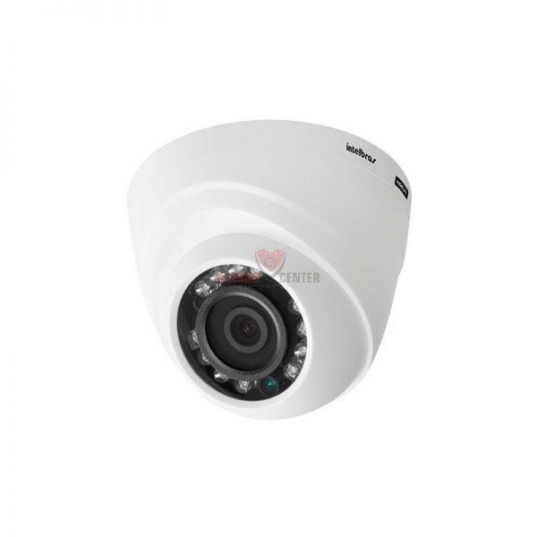 Câmera hdcvi com infravermelho Intelbras dome interna