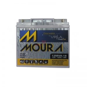 Bateria 12v 18Ah Moura nobreak e jetsky