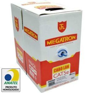 Cabo de rede Megatron | Alarme Center em Curitiba