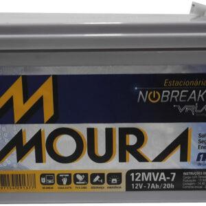 bateria 12v 7Ah Moura alarme center